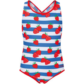 Regatta Tanvi Costume da bagno Bambino, fiery red strawberry
